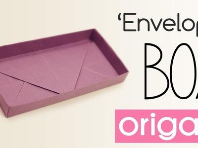 Origami Rectangular 'Envelope' Box Tutorial