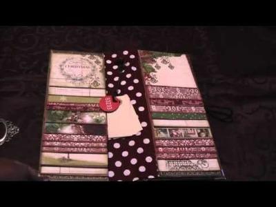Scrapbooking - Donna's Flip Pocket Tall Mini Album
