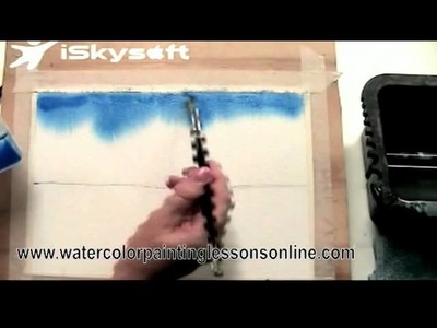 Watercolor Painting Tutorial for Beginners - Watercolor Painting Ideas
