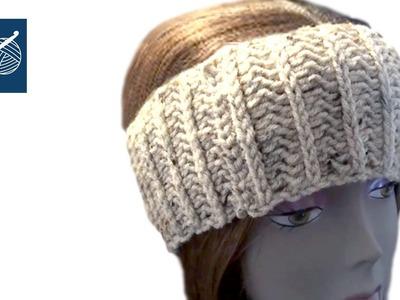 Wide HeadBand Left Hand Crochet Geek