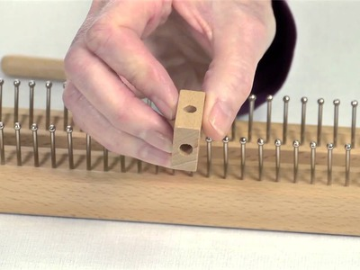 """28"""" Knitting Board with metal pins"""
