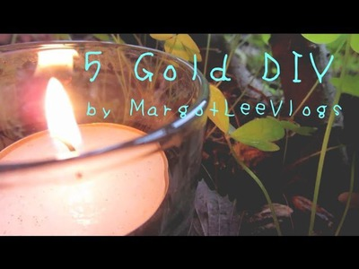 5 Gold Simple DIY Projects
