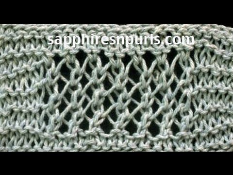 Add a Garter Stitch Border to Knitting