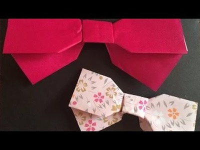 Art & Craft : Great Origami-how to make paper ribbon-Orange Colour