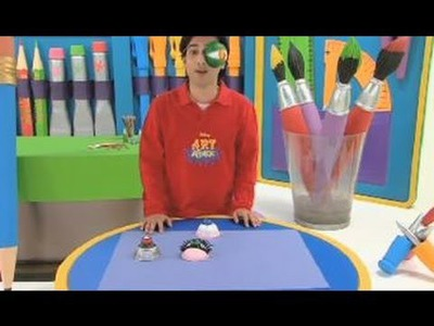 Art Attack - How To Make A Scary Eye Craft - Disney India (Official)