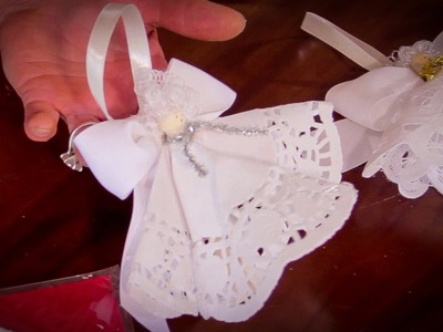 Arts and Crafts Tutorial: How to Make Peg Fairy Christmas Tree Decorations