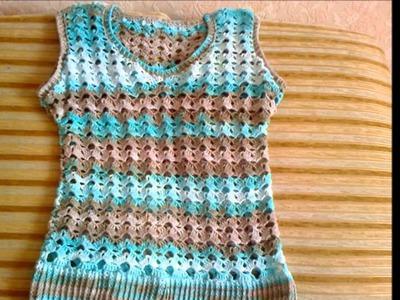 Blusas tejidas a crochet para señoras de 40 años