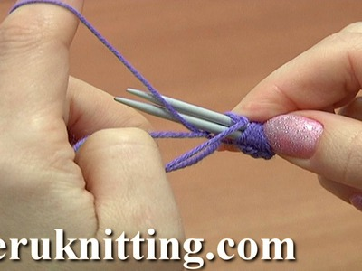 Cast-On With Two Knitting Needles Tutorial 1 Method 3 of 18 Knitting Fundamentals