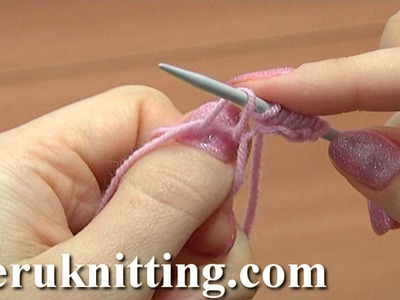Casting On in Knitting Tutorial 1 Method 10 of 18 Begin to Knit