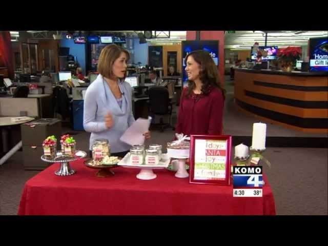 Christmas Food and Craft Ideas with KOMO-TV DIY Diva Malia Karlinsky