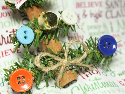 Cinnamon Stick Christmas Tree Ornament Tutorial Craft