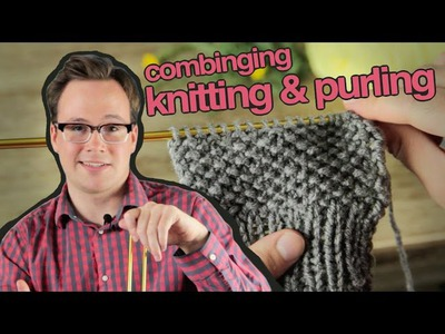 Combined Knit and Purl: How to Combine Knitting and Purling