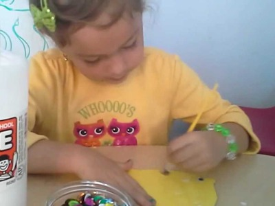 Craft Corner: How to make a Rainbow Fish.(Arts and Craft Tutorial)