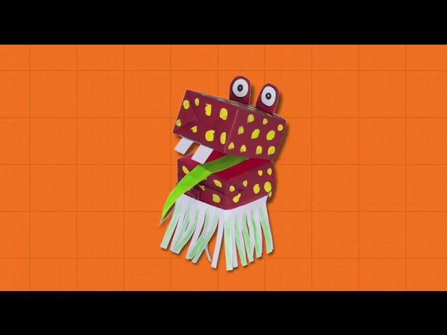 Craft Ideas with Boxes - Hand Puppet | DIY on BoxYourSelf
