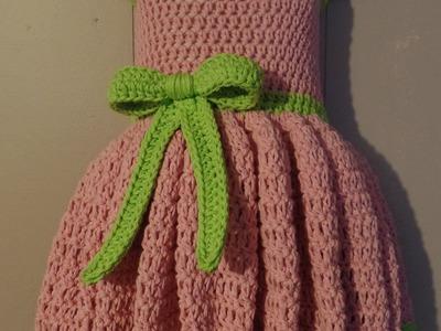 #Crochet 18-24 months Girls Special Occasion Dress #TUTORIAL