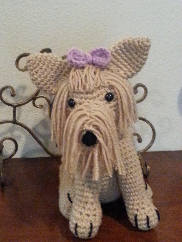 Crochet Amigurumi Yorkie Dog Part 3 DIY tutorial
