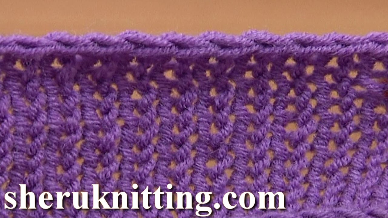 Crochet Bind Off in Knitting Tutorial 7 Method 7 of 12 Different Bind-offs