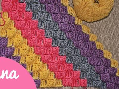 Crochet C2C with the triple crochet