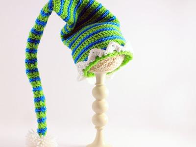 Crochet Elf Hats: Beginner Friendly Tutorial