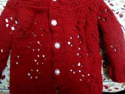 Crochet Knit Baby Lace Cardigan Sweater