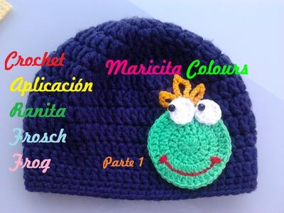 """Crochet Tutorial Sapito.Ranita """"Alex""""  Parte 1 - Frog Crocheting - Häkeln Frosch"""