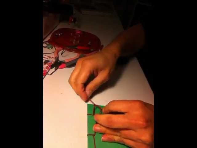 D.I.Y Tutorial How To Book Bind for Art Journal or Scrapbook Level: Easy
