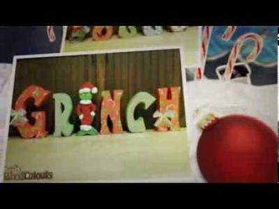 December & Christmas DIY Wood Crafts - Holiday Craft Store