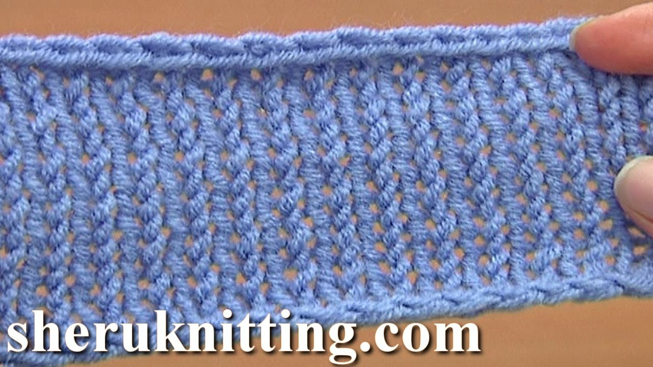 Decrease Bind-off Cast-off By Knitting Two Together Tutorial 7 Method 1 of 12