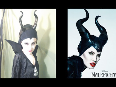 Disney's Maleficent Make up Tutorial: DIY Costume  |Taylor Rose|