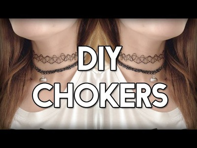 DIY CHOKERS | Dutch Tutorial ♥