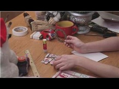 DIY Christmas Cards : Crafts Made With Envelopes