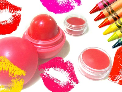DIY Crayon Lipstick without Coconut Oil
