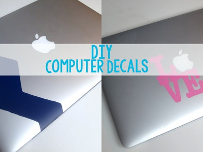 DIY Custom Computer Decals | Sizzix Teen Craft