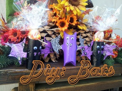 Diy:Duct Tape Halloween Bats {Halloween Craft's }