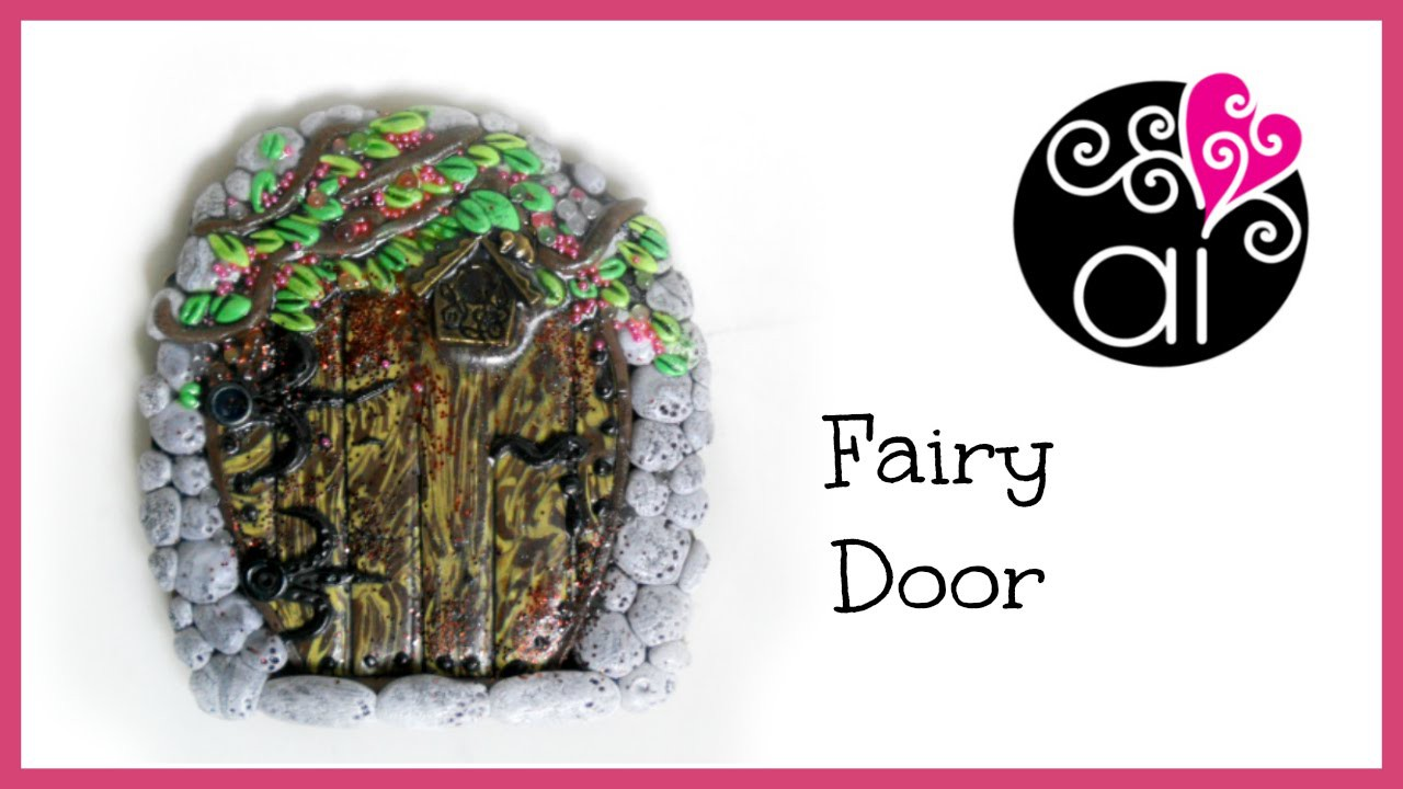 DIY Fairy Door Tutorial | Polymer Clay | Porta Fatata
