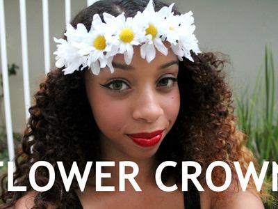 ✿ DIY Flower Crown Tutorial & How to Style ✿