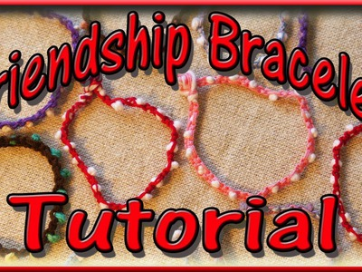 DIY Friendship Bracelet - Easy Craft for Kids