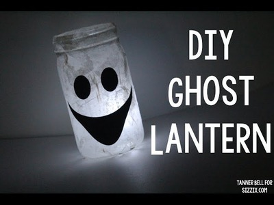 DIY Ghost Lantern | Sizzix Kid Craft