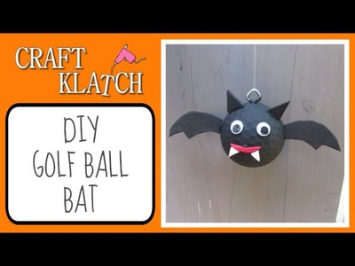 DIY Golf Ball Bat Recycling   Craft Klatch Halloween Series