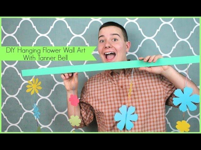 DIY Hanging Flower Wall Art | Sizzix Teen DIY Craft