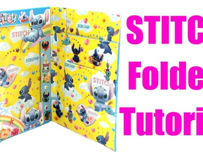 DIY Kawaii Stitch Folder Tutorial - How To