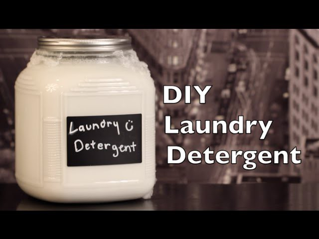 DIY Laundry Detergent | Tutorial on How To Make Laundry Detergent