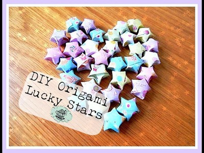 DIY Origami Lucky Stars ¦ The Corner of Craft