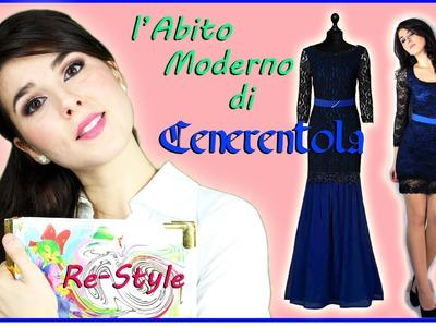 DIY ☆ RE-STYLE TUTORIAL abito corto diventa elegante + Cenerentola Story ∫ Marisa'Style
