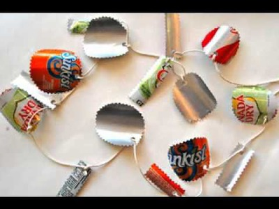 DIY recycled crafts projects ideas