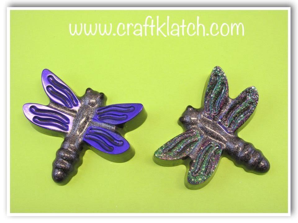 DIY Resin Dragonfly Craft Tutorial