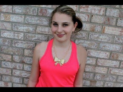 DIY Statement Necklace | Sizzix Teen DIY Craft
