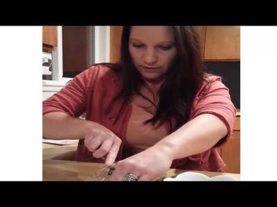 DIY Tutorial Aloe Vera Gel From Raw Aloe Leaves