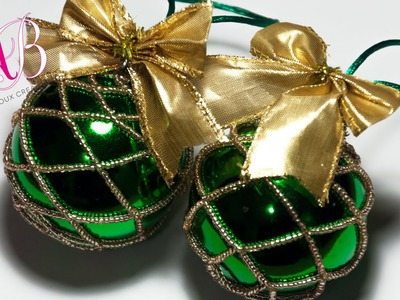 DIY Tutorial | Come rivestire una pallina di Natale con perline di conteria