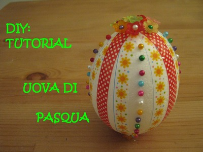 DIY: TUTORIAL UOVA DI PASQUA  -con Teddy Factotum